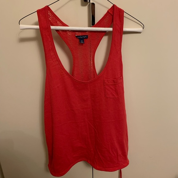 American Eagle Outfitters Tops - Pink tank top